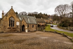 Church and cottages, Blanchland