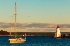Baddeck harbour