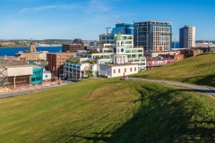 Downtown Halifax from The Citadel