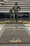 Cunard Statue