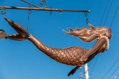 Mermaid sign, Mahone Bay
