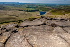 South West from Kinder Scout
