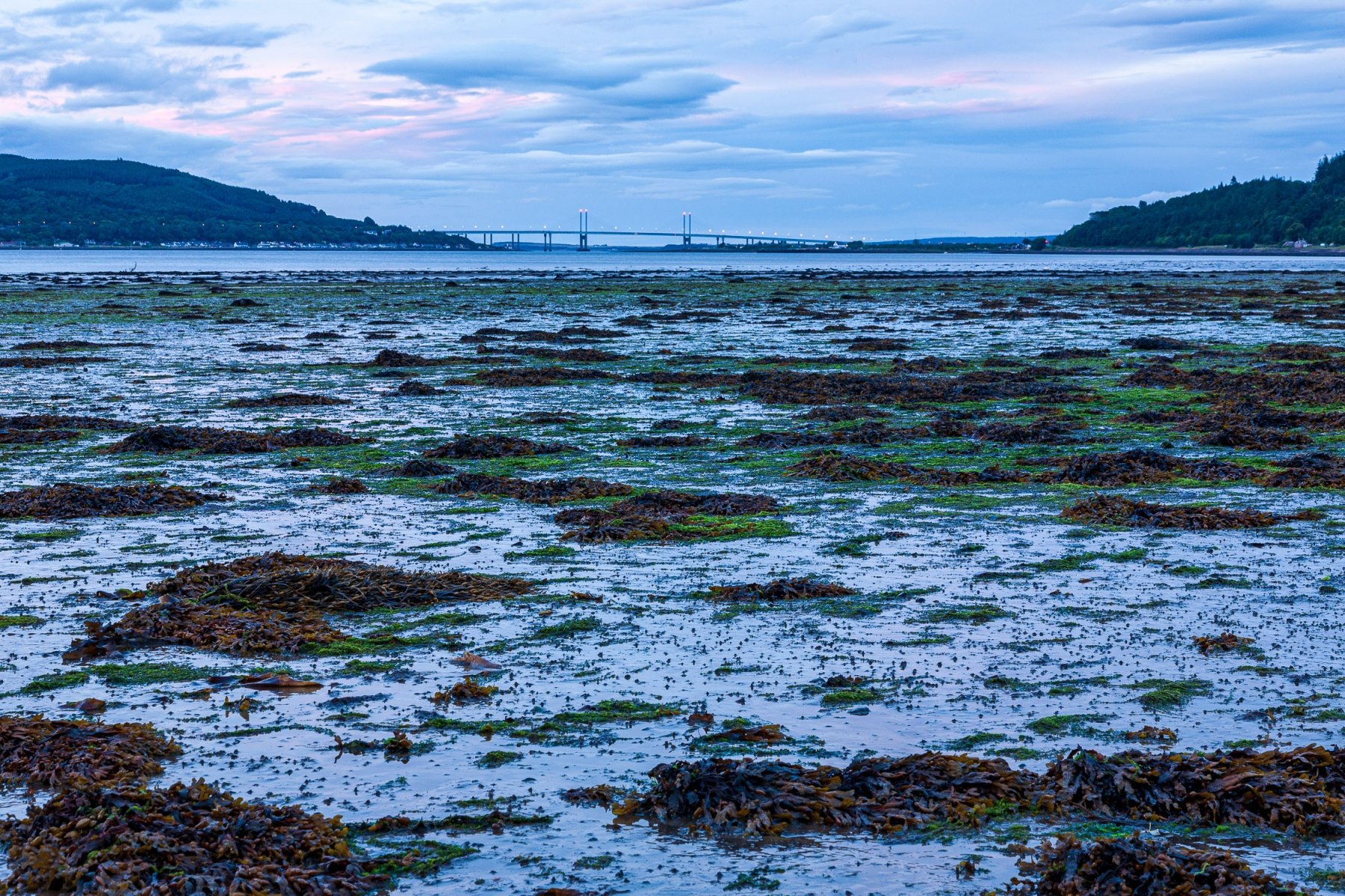 Across Beauly Firth to Kessock Bridge