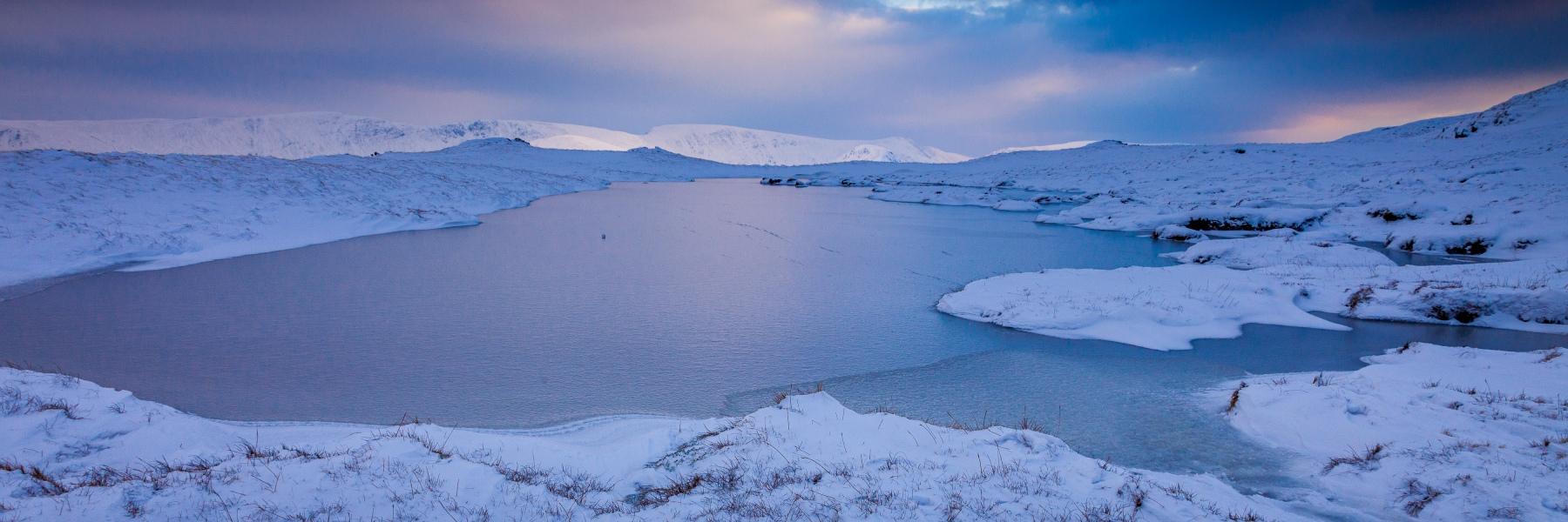 Frozen Tarn