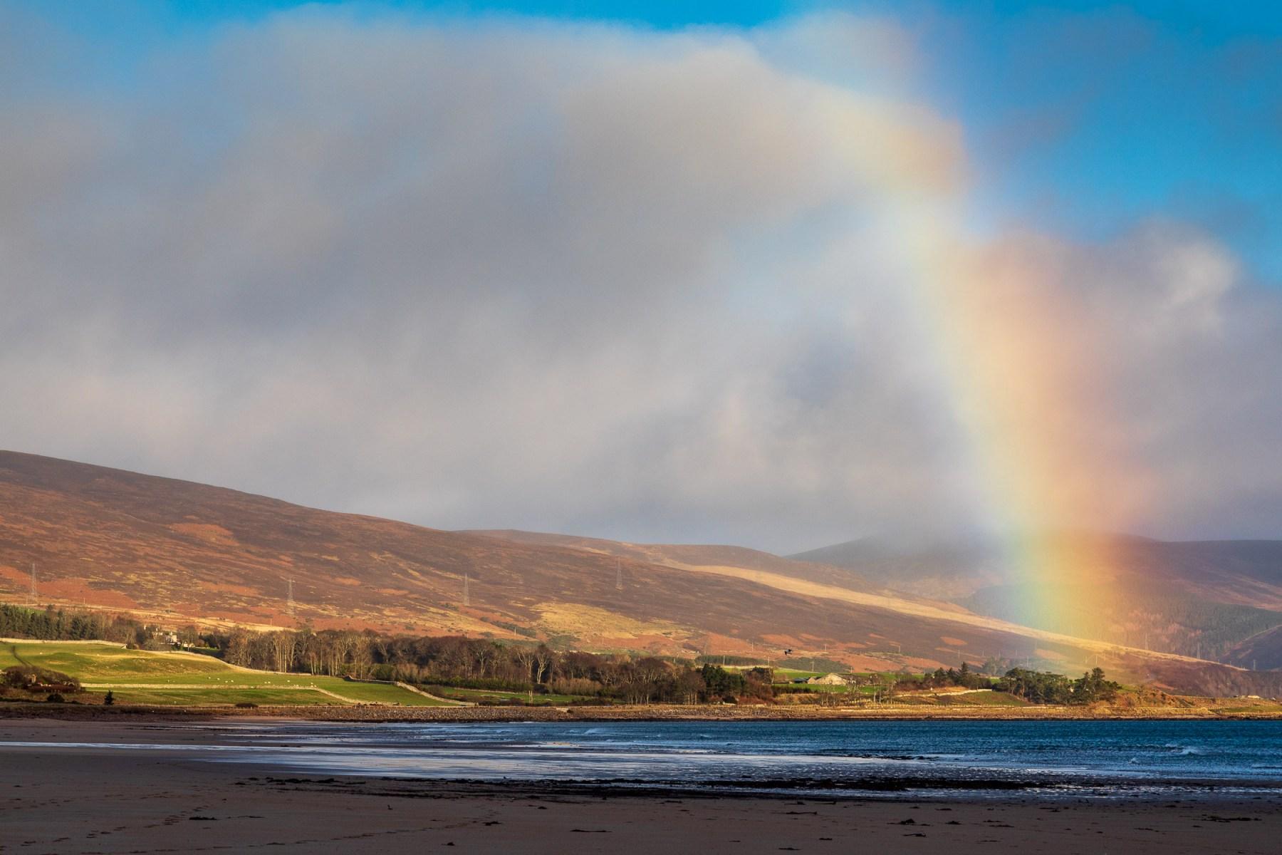 Rainbow over the Sutherland Coast