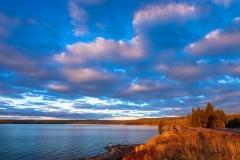 Early morning, Yellowstone Lake