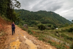 Trekking in the Muong Hoa Valley