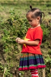 Red Dao minority girl