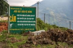 Su Pan village sign
