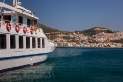 Ferry at Samos Town Harbour