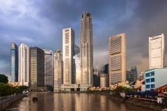 Storm over Singapore