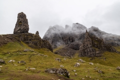 Old Man of Storr and The Storr