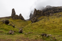 The Storr rock formations