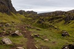 Quiraing below Fir Breugach