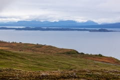 Sound of Raasay and Wester Ross.