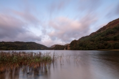 Dawn light over Lyn Gwynant