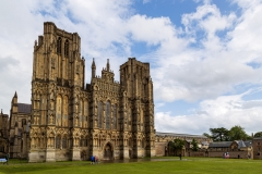 West front of Wells Cathedral