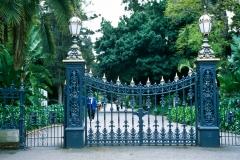 Botanic Gardens gates
