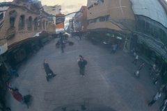 Rundle Street Mall reflected