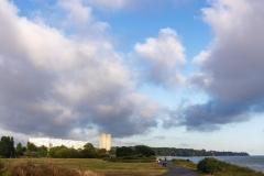 Big skies over Weston Shore
