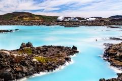 Blue Lagoon geothermal pool