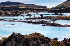 Blue Lagoon volcanic rocks