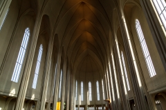 Interior of Hallgrimskirkja