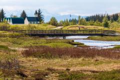 Öxará River and Þingvellir