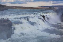 Upper falls at Gullfoss