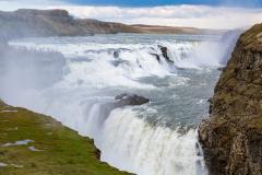 Gullfoss and the Hvítá River