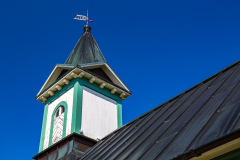 Þingvellir Church tower and spire