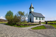 Þingvellir Church and surroundings