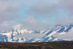 Interior mountains behind Þingvellir National Park