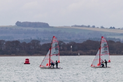 Sailing on Chichester Harbour