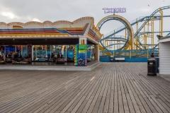 Palace Pier funfair, Brighton