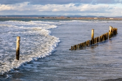Beach defences, West Wittering Spit