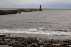 Harbour wall, Tynemouth