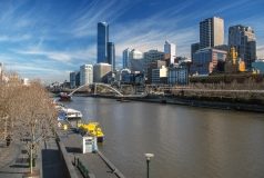 Yarra River and Downtown