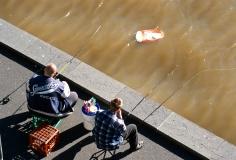 Fishing for rubbish