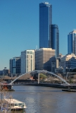 Rialto Towers and the Yarra River