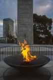 Eternal flame, World War II memorial