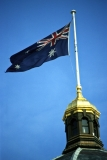 Flag on Royal Exhibition Building