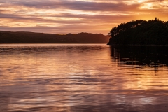Sunset over Loch Ewe