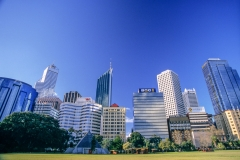 Downtown skyline, Perth
