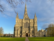 West facade of Salisbury Cathedral