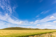 Big sky above the Pewsey Downs