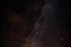 Milky Way and Andromeda