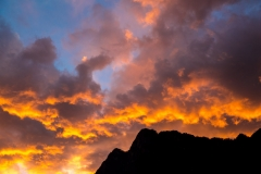 Tiger Leaping Gorge sunset
